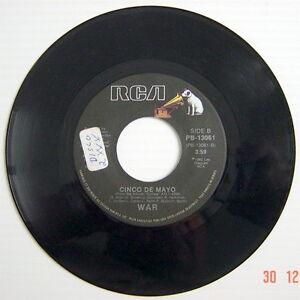 ONE-1982-039-S-45-R-P-M-RECORD-WAR-YOU-GOT-THE-POWER-CINCO-DE-MAYO