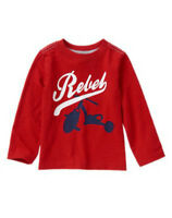 Crazy 8 Spring Trans 16 Red Rebel Tricycle L/s Shirt Top