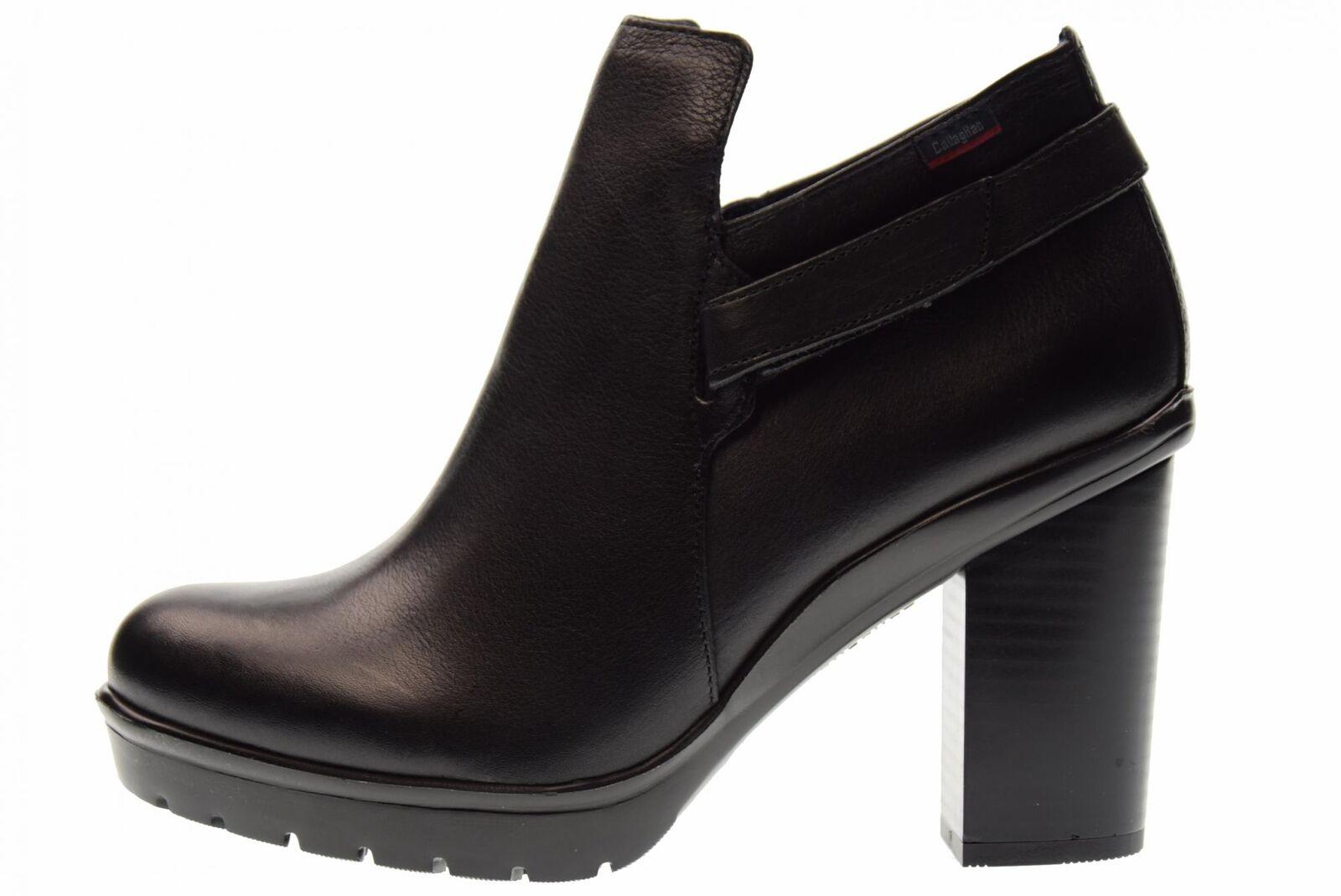 Callaghan A17g Schuhe Frau Stiefeletten 99812 BLACK BLACK BLACK fda867