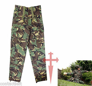 KOMBAT KIDS MILITARY ARMY HUNTING CAMOUFLAGE TROUSERS 11-12 Years FREE DELIVER