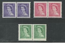 CANADA # 331-333 MNH QUEEN ELIZABETH II (6567)