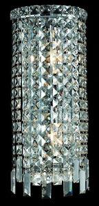 "8/"" Crystal Modern Chrome Rain Chandelier Lighting Wall Sconce Entry Fixture"