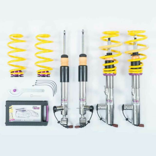 KW DDC - Plug & Play Assetto a ghiera coilover inox 39025014 per MERCEDES-BENZ C