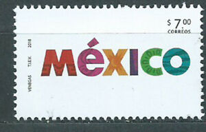 Mexico Mail 2018 Yvert 3131 MNH Brand Country