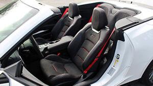 6th Gen Camaro >> 2016 6th Gen Camaro 6 Red Seat Belt Kit Front Back Belts
