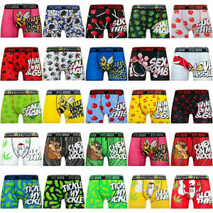 Mens-Boys-Novelty-Funny-Rude-Boxer-Boxers-Hipster-Trunks-Shorts-Underwear-Pack