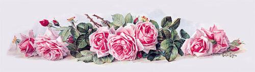 Art Print of Vintage Art La France Roses by Paul de Longpre