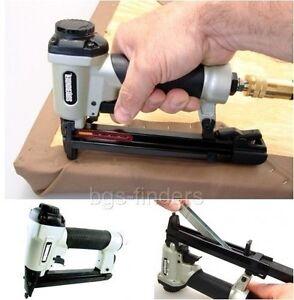 Upholstery Staple Gun Pneumatic Air Operated Lightweight Stapler