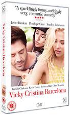 DVD:VICKY CRISTINA BARCELONA - NEW Region 2 UK