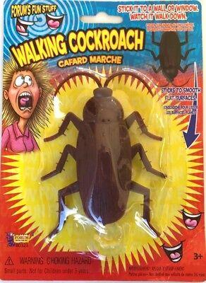 12 COCKROACH CREEPY CRAWLER ROACH BUG TRICK WALL CLIMBER GaG Novelty Joke Prank