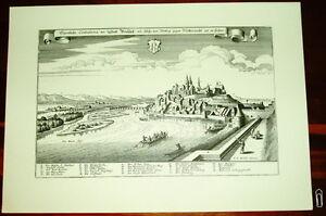 Breisach-alte-Ansicht-Merian-Druck-Stich-Panorama-1650-Staedteansicht-Baden-Wuertt