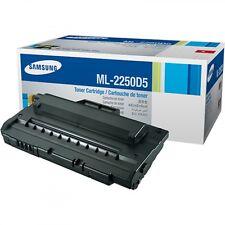 ORIGINALE Samsung toner nero ml-2250d5 ML 2250 2251 2252 2255 a-Ware