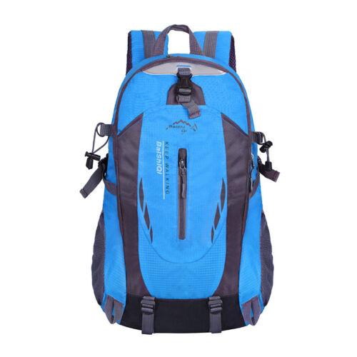 40L Backpack Waterproof Camping Hiking Bag Outdoor Travel Luggage Rucksack Sport