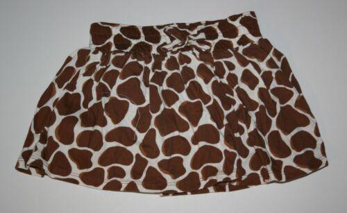 New Girls 5T 5 year Crazy 8 by Gymboree Giraffe Animal Print Knit Skirt Skort