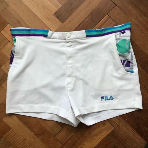 FILA Vintage Tennis Shorts 80's - Size I 54 / US 3