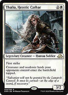 Thalia Heretic Cathar Eldritch Moon NM White Rare MAGIC MTG CARD ABUGames