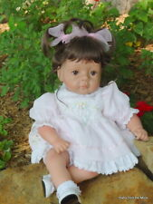 "New ~ OOAK ~22"" Secrist ""Chipmunk"" Toddler Doll in New Lee Middleton Outfit"