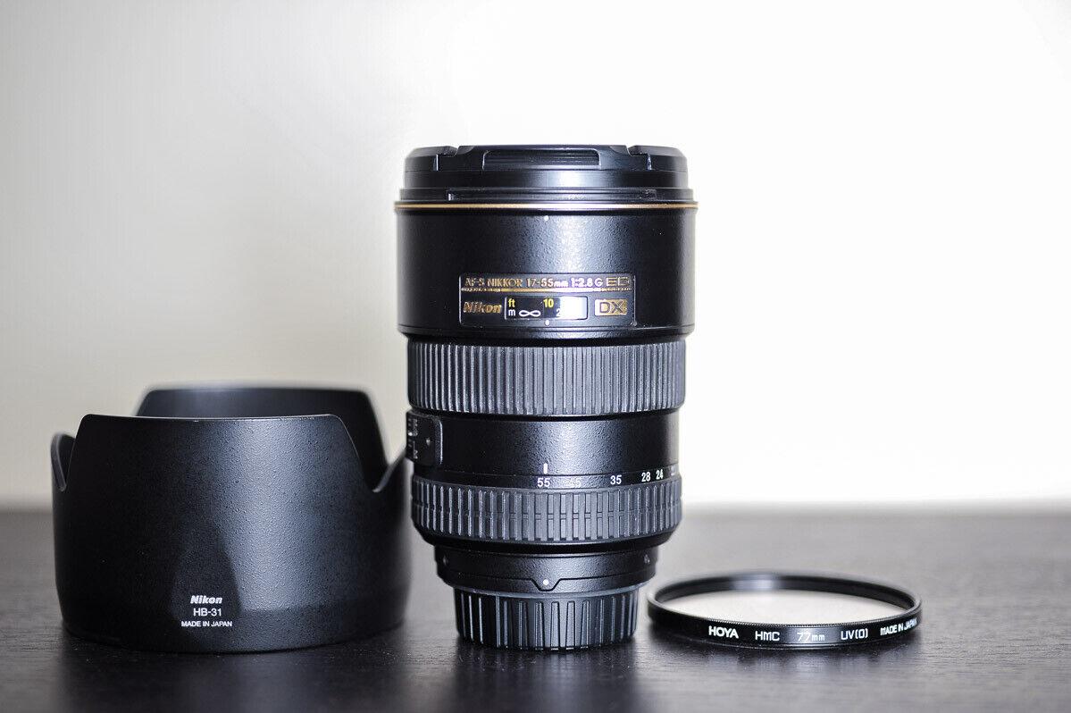 Fujiyama 77mm Circular Polarizing Filter for Nikon AF-S DX Nikkor 17-55mm f//2.8G ED-IF Made in Japan