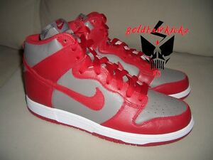 d2dc2317ea3f NIKE DUNK HIGH QS UNIVERSITY RED UNLV BE TRUE TO YOUR SCHOOL 850477 ...
