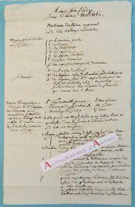 Docteur-WOLOWSKI-traitement-cholera-Medecine-Superbe-remede-manuscrit-XIXe