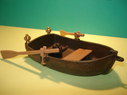 Boat Boat Condition New Barque Playmobil Boat Pirate Brown