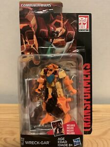 Transformers Legends 3.75inch Wreck-Gar Collectors Card Included