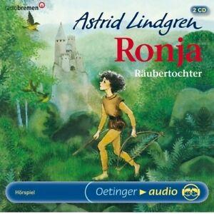 ASTRID-LINDGREN-RONJA-RAUBERTOCHTER-2-CD-NEW