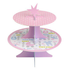 Tiny Feet Reversible Cake Stand Baby Shower Party Supply