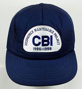 d76044b5 Details about Fitzpatrick Maintenance Project CBI 1986-1988 Trucker  Baseball Hat Cap (h4)