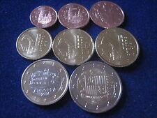 MDS ANDORRA / SPANIEN EURO-KMS, 1 CT. - 2 EURO, LOSE UND UNZIRKULIERT