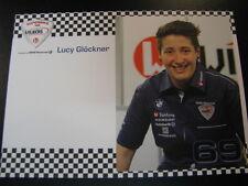 Team BMW Wilbers IDM Superbike 2014 #69 Lucy Glöckner (GER)