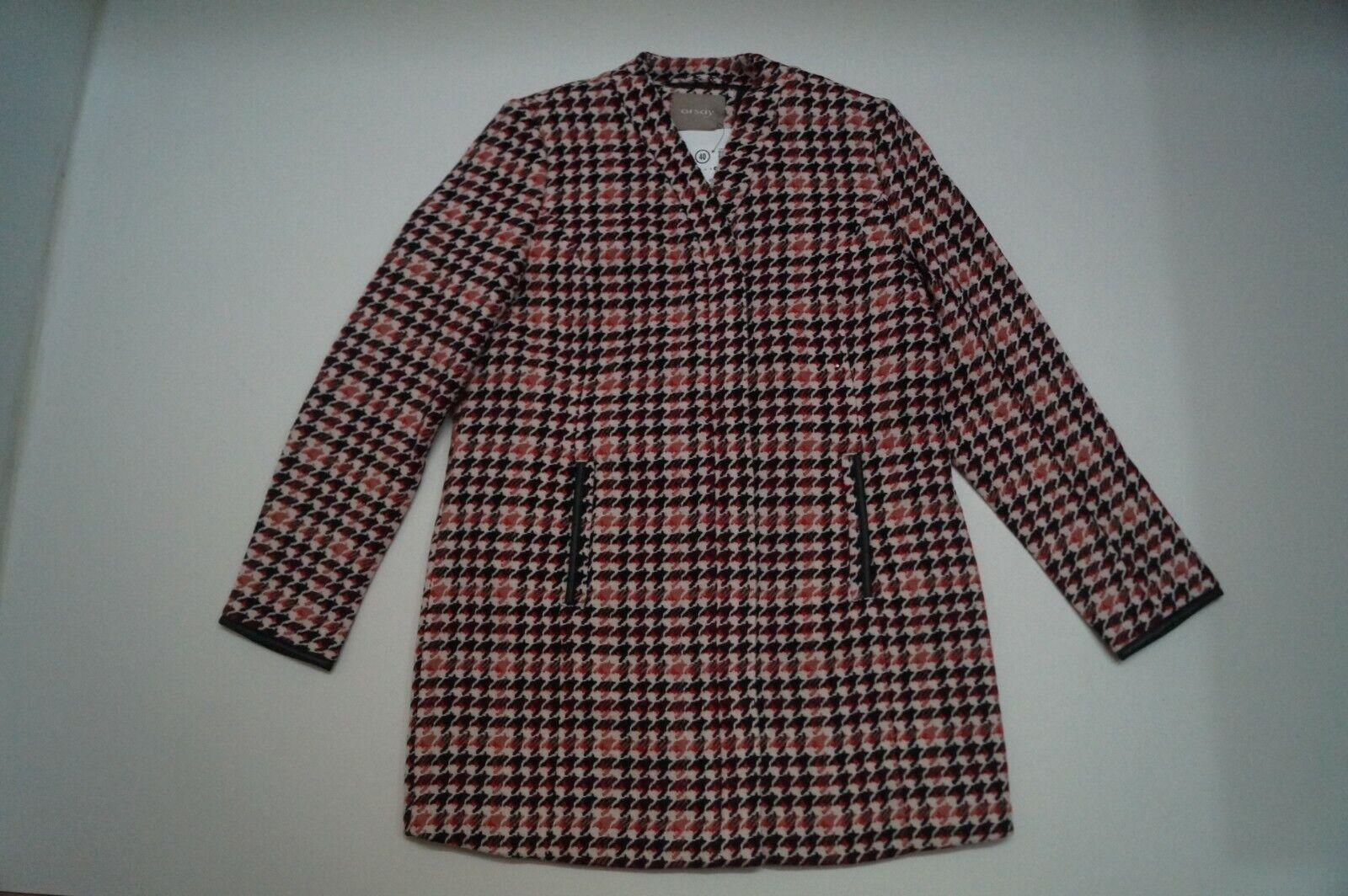 ORSAY   NEU  Damen Woll Mantel, mehrfarbig, Gr. 40  (620)