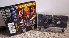 RACER X Live Extreme Volume cassette tape 1988 Jeff Martin & Paul Gilbert