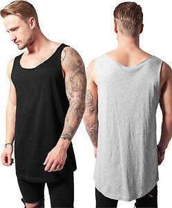 Urban Classics Men s Tank Top Extra Long Shirt Oversize Tank Top ... 452f376f3d3