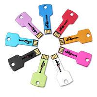BESTRUNNER 1-32GB Mini Key Mode USB 2.0 Metal Thumb Flash Memory Stick U Disk