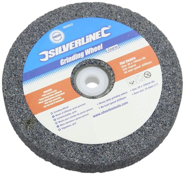 Silverline 380652 Grinding Wheel 150 mm Coarse