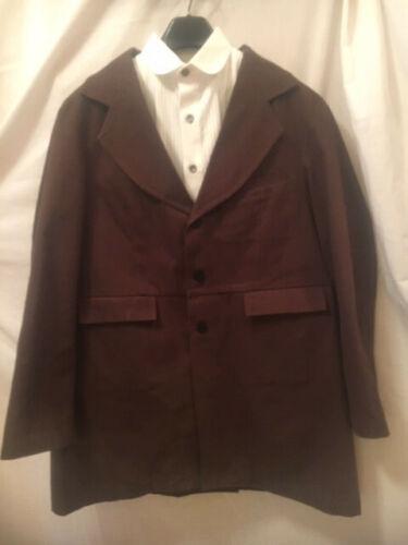 Mens Western Suit, pre 1900 style town suit. Heavy