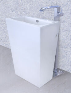 Bathroom Pedestal Sink Cesaro Ii Modern Bathroom Pedestal Sink