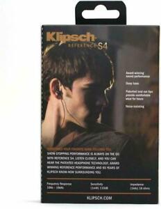 Klipsch-Reference-S4-In-Ear-Headphones-Black-Copper