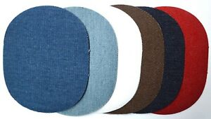 Jeansflicken zum Aufbügeln Bügelflicken Jeans Reparaturflicken Flicken Aufbügler