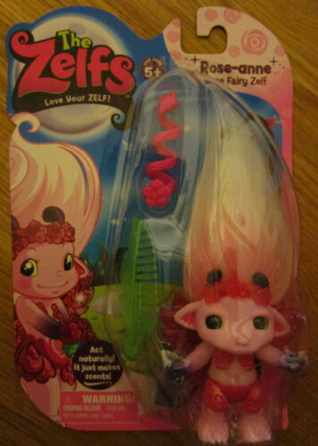 The Zelfs ROSE-ANNE DOLL Rose Fairy Zelf  Series 5 Medium
