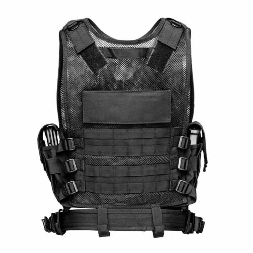 Tactical Vest Military Plate Carrier Assault Gear Molle Police Airsoft Combat US