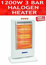 HALOGEN HEATER ELECTRIC TUBE ENERGY EFFICIENT OSCILLATING FOR OFFICE HOME 1200W