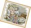 Counted Cross Stitch Kits Pattern The Old Married Couple with 14CT Without Pre