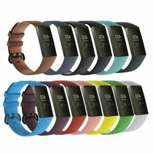 Fuer-Fitbit-Charge-3-Uhr-Uhrenarmbaender-Silikon-Armband-Uhrenarmband-Sport-Strap