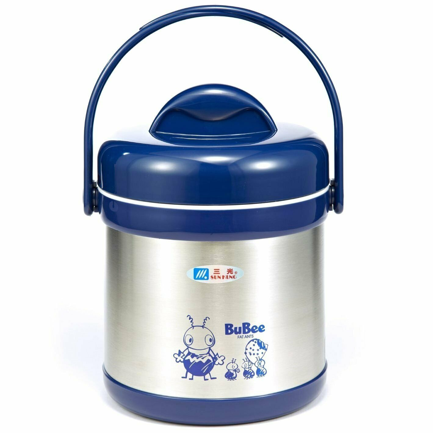 Bubee H1500 deux couches déjeuner Jar Pot 1.5 L