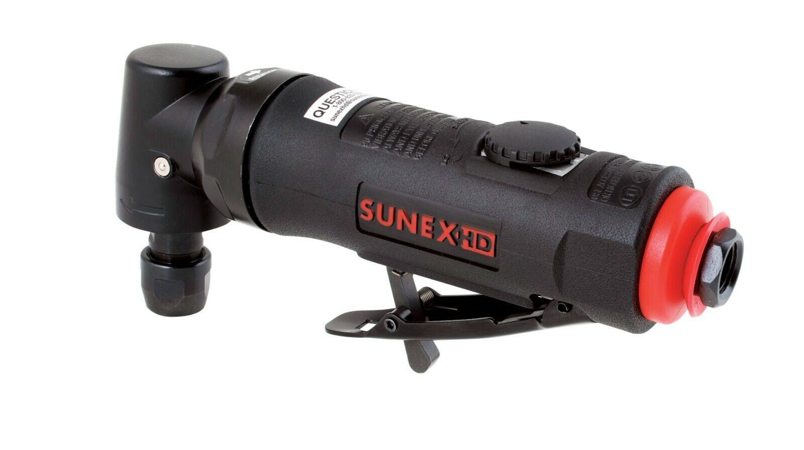 SX5206 toolman525 Sunex HD 1/4 Right Angled Air Die Grinder Composite Pneumatic Tools SX5206