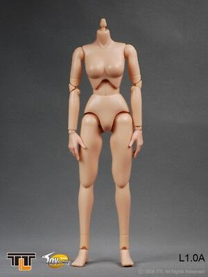 1//6 Female Hot Woman Small Bust Breast 12/'/' Action Figure Body L1.0A Toys
