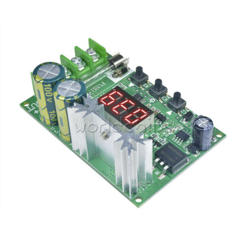 10A DC 12-60V 600W Motor PWM Speed Controller Regulator With Red Digital Display