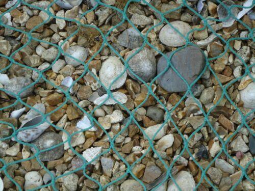 Large Fishing Net Dark Green 200 cm x 150 cm maritime Ship Fishing Trawler Boat